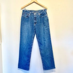Ralph Lauren Blue Denim Saturday Jeans
